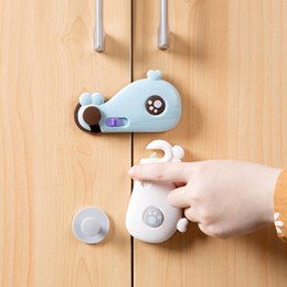Wholesale Drawer Knobs Kid - NEW Safety Baby Cabinet Locks - Latches to Child Proof Drawers, Fridge Home Kids E00871
