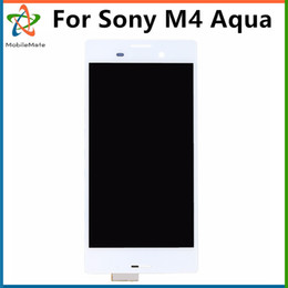 Wholesale Lcd Screen China Free Shipping - Good Quality Low Prices China Mobile Phone LCD Panel For Sony M4 Aqua E2303 E2333 E2353 Touch Screen Replacement Free Shipping