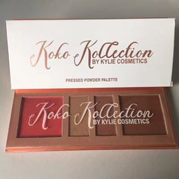 Wholesale Manufacturing Longing - hot kylie makeup Bronzers & Highlighters with the Koko 4 color Pressed Powder by factory manufacture MR380