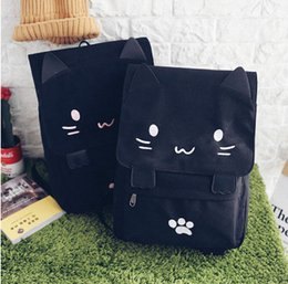 Sacs à bandoulière enfants en Ligne-Sacs à dos pour enfants sacs pour enfants fille jolie oreille de chat sac pour école sacs messenger enfants cartoon animal double épaule sac à dos sac à main fille T4354