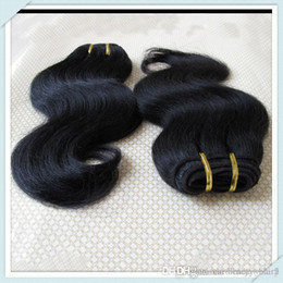 Wholesale Human Hair Price Bulk - Cheap Malaysia Human Hair Weft Lovely Body Wave Hair Extensions Mixed 8pcs Color Fast Free DHL Bulk Whosale Price Muse Hair