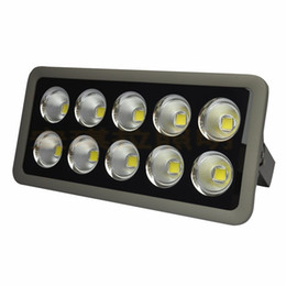 Wholesale project outdoor - LED flood light high power COB 50W 100W 150W 200W 300W 400W 500W 600W waterproof outdoor lights AC85-265V project MYY