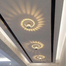 Wholesale Small Led Ceiling Light Fixtures - 5w Creative Wall Light Small LED Ceiling lamp for Art Gallery Decoration Front Balcony lamp Porch light corridors Light Fixture