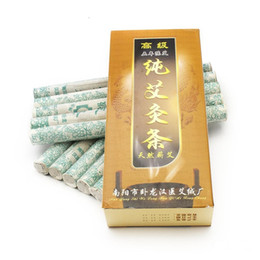 Wholesale Rolling Massage - 10X Pure Moxa Roll Moxibustion Stick For Traditional Body Massage Therapy For Antistress Acupuncture & Relieving Pain
