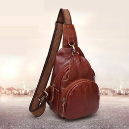 Wholesale First Version - 2017 new retro leather men and women bracelet Korean version of the first layer of leather casual couple shoulder Messenger bag