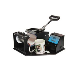 Wholesale Transfer Machine For Mugs - Free Shipping From USA Dual Digital Display Heat Press Transfer Sublimation Machine for Cup Coffee Mug