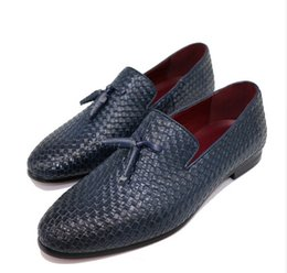 Wholesale Summer Dresses For Men - New Men oxford shoes Breathable Action Leather Men's Flats men wedding Shoes Summer Spring Casual Walking shoes For Man Sapatos Masculinos