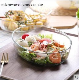 Wholesale Steamed fish dish glass plate Japanese tableware transparent salad plate Toughened glass fish dish fruit dish microwave oven oven suitable