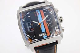 Wholesale Cheap Automatic Belt - Cheap Sale Tag Automatic Mens Watces Monoca 24 Square Dial Original Band Original Clasp Digital Watch Montre Homme