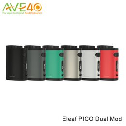 Wholesale Adapters For Power Banks - Eleaf iStick Pico Dual Mod 200w Max Out Put fit Melo III Mini Tank Take RC Adapter work as Power Bank for your phone