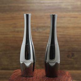 Wholesale Ecig Stainless - Vase Cannon Bowling Atomizer Dry Herb Vaporizer Dual Quartz Ceramic Coil Rebuildable Wax Vase Shape Stainless Steel Metal ECig Tank Vapor