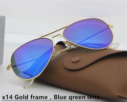 Wholesale Oculos Style - 2017 New lurxu AAAAA+ style Aviator bans Sunglasses Vintage Pilot Brand Sun Glasses UV400 Men Women Glasses glass oculos