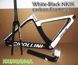 Wholesale Xs Frameset - Factory sale T1000 3K 1K BB30 BB68 Road bike carbon frameset Cipollini NK1K carbon road frames with XXS-XS-S-M-L free shipping