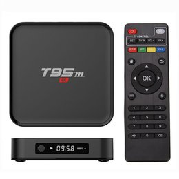 Wholesale Mini Pc Wifi Hdmi - Android OTT TV Box T95M Quad Core Amlogic S905X KD Fully Loaded 2G+8G Wifi Stream Box Media Player 4K Mini PC OTH042