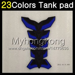 tank pads Coupons - 23Colors 3D Carbon Fiber Gas Tank Pad Protector For BMW S1000R S1000RR 09 10 11 12 13 14 S1000 RR 2009 2010 2011 13 2014 3D Tank Cap Sticker