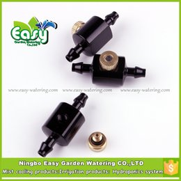 Wholesale Misting Systems - Watering Irrigation Garden Water Connectors (20pcs-pack)1 4'' Barbed Mist Nozzle base for low powered cooling system. Free Shipping