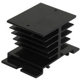 Wholesale Heat Relay - Wholesale- CAA-Aluminum Heat Sink 80mm x 50mm x 50mm for Solid State Relay SSR