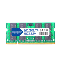 Wholesale Ddr2 533mhz - Free Shipping 1Pcs Lot 100% New 2G DDR2 800 667 533 RAM Laptop Computer Notebook PC Memory 2GB 800MHz 667MHz 533MHz Dual Channel