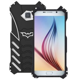 Wholesale Film Camera Case - Phone Case For samsung galaxy S6 S6 edge S6 edge plus phone cases metal aluminum Shockproof Cover Armor anti-knock protect camera with film