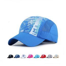 Wholesale Waterproof Hats Women - High quality Men and women outdoor tourism hiking hats summer waterproof quick shade hat sunscreen baseball cap DMB133