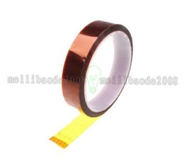 Wholesale 25mm tape - NEW Kapton Tape Sticky High Temperature Heat Resistant Polyimide 25mm,50mm,10mm,20mm,30M B00137 OST MYY