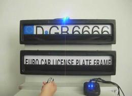 Canada Caché votre cadre de plaque d'immatriculation de voiture de numéro de licence de voiture avec télécommande taille de l'Europe Offre
