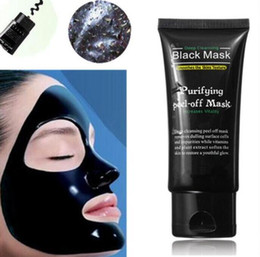 acne removing face masks Promo Codes - Black Suction Mask Anti-Aging 50ml SHILLS Deep Cleansing purifying peel off Black face mask Remove blackhead Peel Masks DHL free shipping