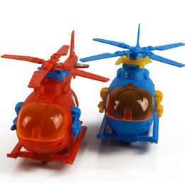 Wholesale Military Aircraft Toys - Hot pull line military combat helicopter military aircraft model children pull line aircraft toys free shipping