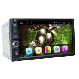 """Wholesale Car Navigation 2din - Wholesale-Bonroad 7""""2Din Android 4.4 Full Capacitive Touch Screen Quad Core 1024 600 Car auto radio Rds GPS Navigation PC Tablet bluetooth"""