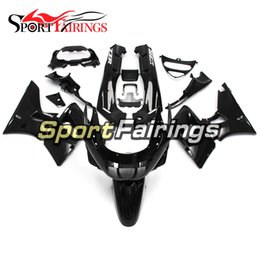 Wholesale Zzr Cowling - Injection Ful Fairings For Kawasaki ZZR600 ZZR-400 93 94 95 96 97 ABS Plastics Motorcycle Fairing Kit Bodywork Cowlings Gloss Black
