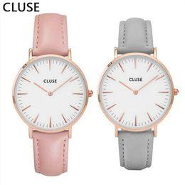 Wholesale Top Women Christmas - Casual Quartz Watch Men Women Top Brand Wristwatch Lovers Christmas Gift Watches Relojes Montre Homme Watches