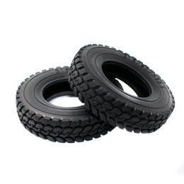 Wholesale Electric Truck Scale - RC Hard Rubber Tires 4pc 22mm Type For Tamiya 1 14 Scale Tractor Truck
