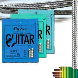 Wholesale Electric Wires - Strong Durability Orphee Electric Bass Strings Hexagonal Steel Nickel Alloy Wire Bass Strings
