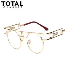 Wholesale Top Brands Sunglasses Wholesale - Wholesale-TOTAL Steampunk Gothic Sunglasses Women Brand Designer Sun glasses Retro Vintage Rose Gold Female Glasses Top Quality UV400