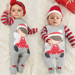 Wholesale Baby Boy Coverall Rompers - Baby Rompers Grey Cute Infant Boys Girls Clothes New born roupas de bebe Summer Boys Jumpsuits Playsuit Footed Coverall Baby clothes factory