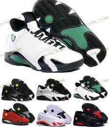Wholesale Fusion Breathable - Classical Retro 14 XIV Basketball Shoes Men Fusion Purple last shot Black Fusion Varsity Red 14s XIV Playoffs Sneakers Eur Size 41-47