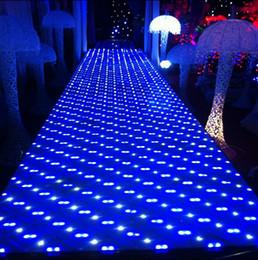 2019 estaciones de bar Alfombra luminosa blanca de la decoración LED de la etapa de la estación del club T de la barra del piso del corredor del pasillo del pasillo de la boda de la manera que envía libremente estaciones de bar baratos