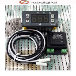 Wholesale Digital Display Thermostat - Wholesale-SF-104 Original Intelligent Mini Digital Display Temperature Controller Electronic Temperature Regulator, Thermostat