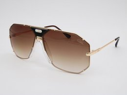 Wholesale Outdoor Cycling Sunglasses - [With Cazals Box] 905 Cazals Sunglasses Metal Frame Luxury Women Men Sunglass Large Frames Cazals Sunglasses Outdoor Cycling Glasses