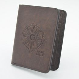 Wholesale Polyester Satin Shorts - Hot Luxury brands Blanc Vintage Mens Wallets Best quality Leather High quality Travel Purse Fine Bifold Credit Card Front Pocket Man Wallet
