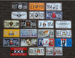 Wholesale Old Home Oil Painting - Champion Shell Motor Oil Garage Route 66 Retro Vintage TIN SIGN Old Wall Metal Painting ART Bar, Man Cave, Pub, restaurant home Decoration
