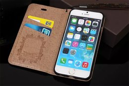 Wholesale Hot Luxury Cover Case - Hot Sale Fashion Luxury Noble Wallet Leather Flip Cases For iPhone 7 6 6s 6Plus 5s SE Galaxy S8 S8Plus S7 S6 edge TPU Cover