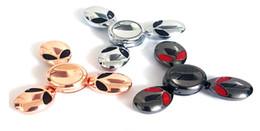 Brinquedo de pires on-line-Pires Man Fidget Spinner Três Laterais Alienígenas Dedo Spinners spin Toy Descompressão com Caixa De Varejo