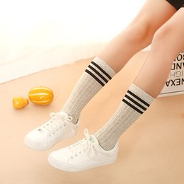 Wholesale Sweet Cotton Socks - The New Lady Three Bar Cotton Pile Socks Female Korean Winter Socks, Children's Stockings Fashion Women Sweet Scoks