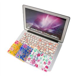 Wholesale Macbook Air Stickers - Free Shipping Ultra Thin Functional Silicone Keyboard Cover Protector Stickers For laptop Macbook Pro Air 13 15 17 Universal