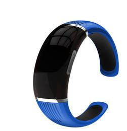 Wholesale 16gb Bracelet - Wholesale- 16GB Blue,Black,White Fitness Bracelet Voice Recorder HnSAT WR-18 with OLED Display Screen