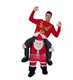 Wholesale Halloween Bear Costume Men - 2017new special children's Halloween costume mascot pants piggyback animal times ride a bear to imitate