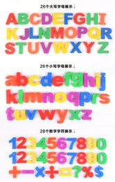 Wholesale Learning Numbers - 2017 new magnets numbers magnetic English alphanumeric education learn cute kid baby educational toys funky magnetic fridge colorful