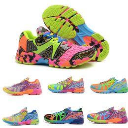 Wholesale Gel Noosa Tri Shoes - New Original Brand Gel-Noosa TRI 8 VIII Running Shoes For Women Fashion Bright Cool Marathon Race Stable Lightweight Sneakers Eur Size 36-40