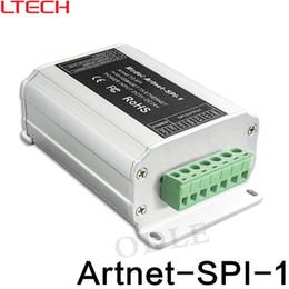 Wholesale Digital Input Output - Artnet-SPI converter;DC5-24V input;SPI(TTL)digital signal output for WS2811 WS2812 TM1809